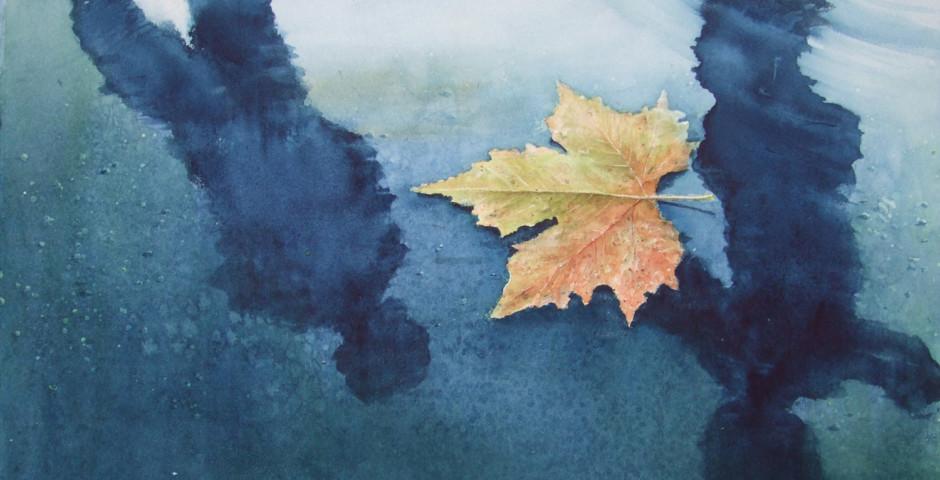 autunno - acquarello 40x50 - 2009