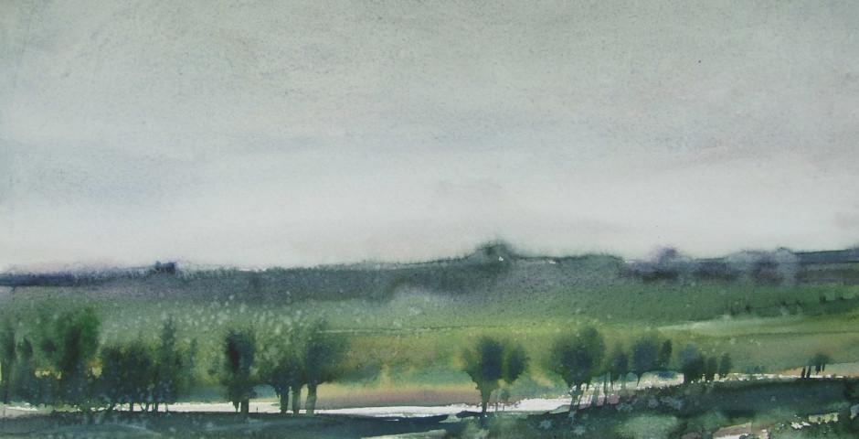 estate in campagna - acquarello 30x40 - 2012