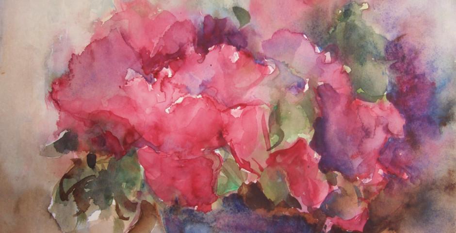 fiori - acquarello 25x35 - 2005