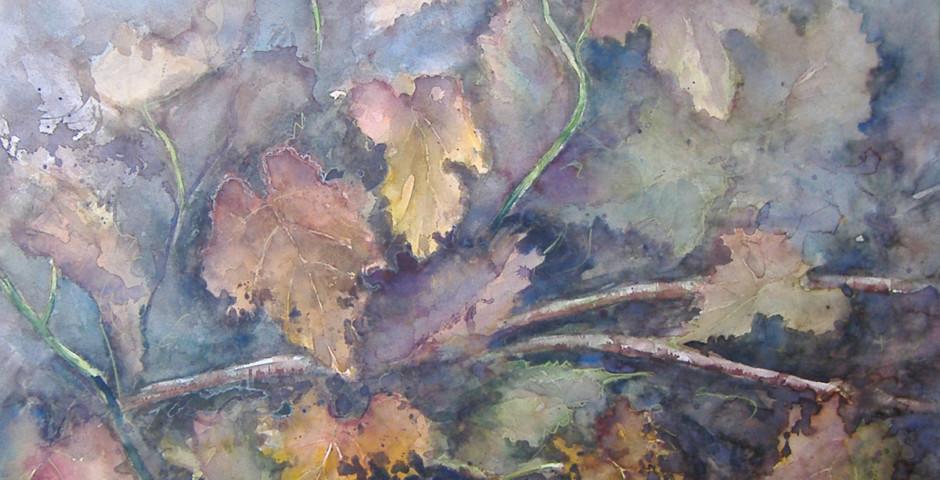 i colori dell'autunno - acquarello 55x60 - 2006