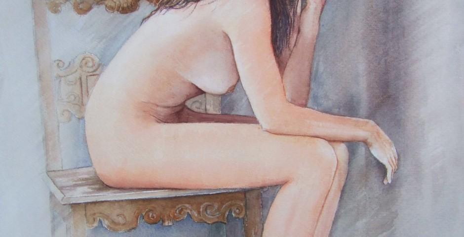 michela - acquarello 50x40 - 2013