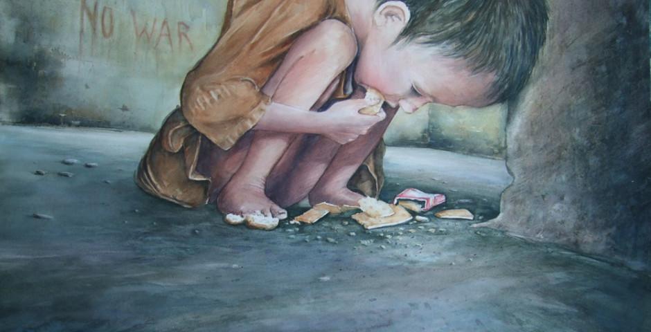 no war - acquerello 55x75 - 2012