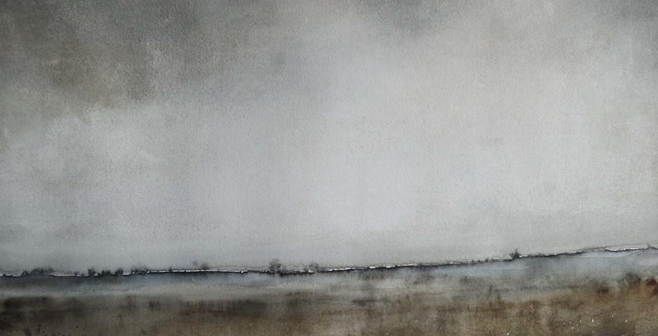 orizzonte - acquarello 28x38 - 2016