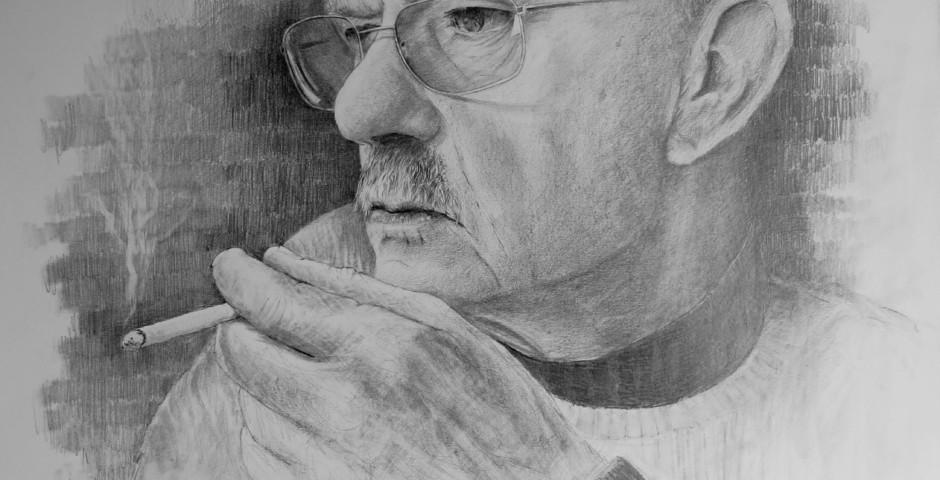 ritratto di Albino - disegno a  matita 70x50 - 2015_