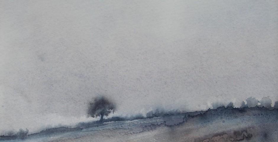 silenzi - acquerello 37x27 - 2012